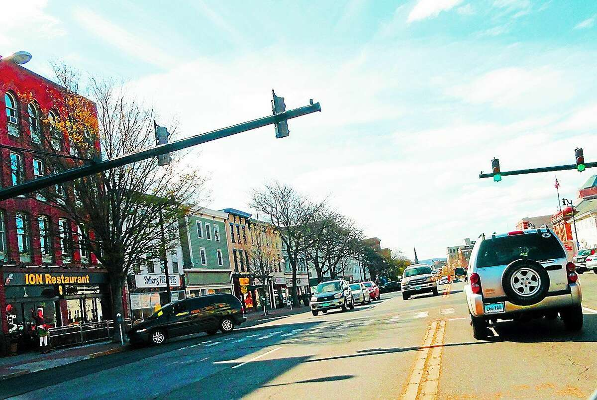 Many Main Street businesses are participating in a joint project of the Middletown Youth Services Bureau and members of the Mayoral Youth Cabinet.