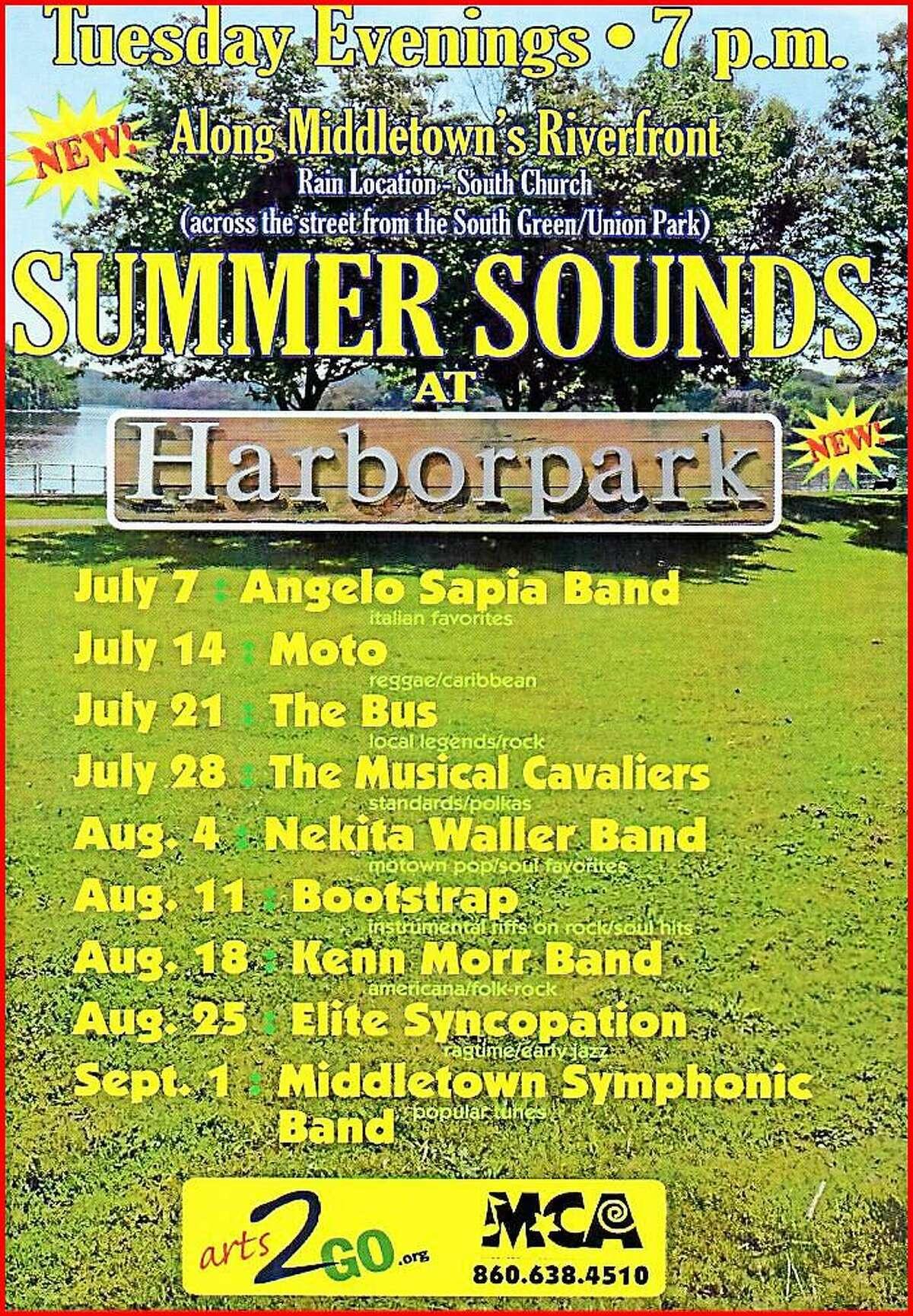Summer Sounds Concerts begin in Middletown on July 7.