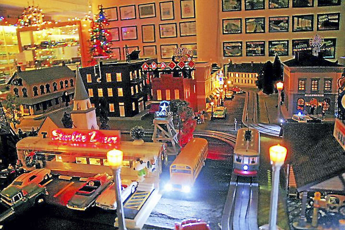 There are only two days left to catch the elaborate trains display at Amato's Toy Store on Main Street. Admission is free with a food donation to benefit the Amazing Grace Food Pantry.