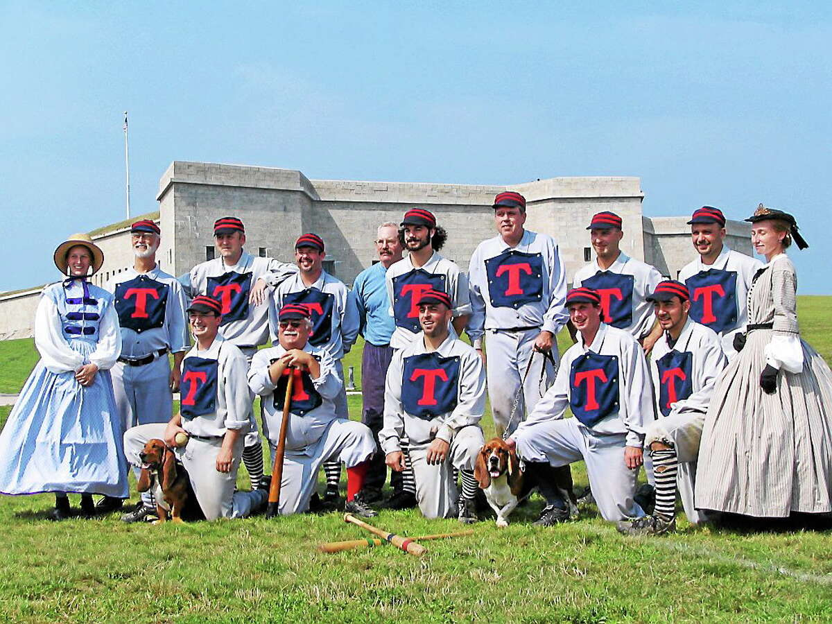 Photos courtesy of Cromwell Historical Society A Civil War Period baseball game, part of the Cromwell Historical Society's celebration of the Civil War susquecentennial, is set for July 12 at Pierson Park in Cromwell.