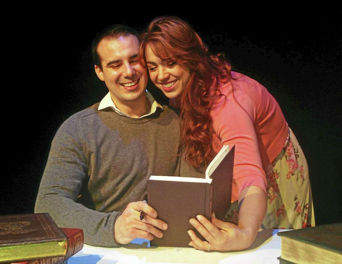 Contributed photos Kaite Corda & Nick D'Angelo in Connecticut Cabaret Theatre's musical, The Last Five Years. THe show runs from Jan. 8 to Feb. 13.