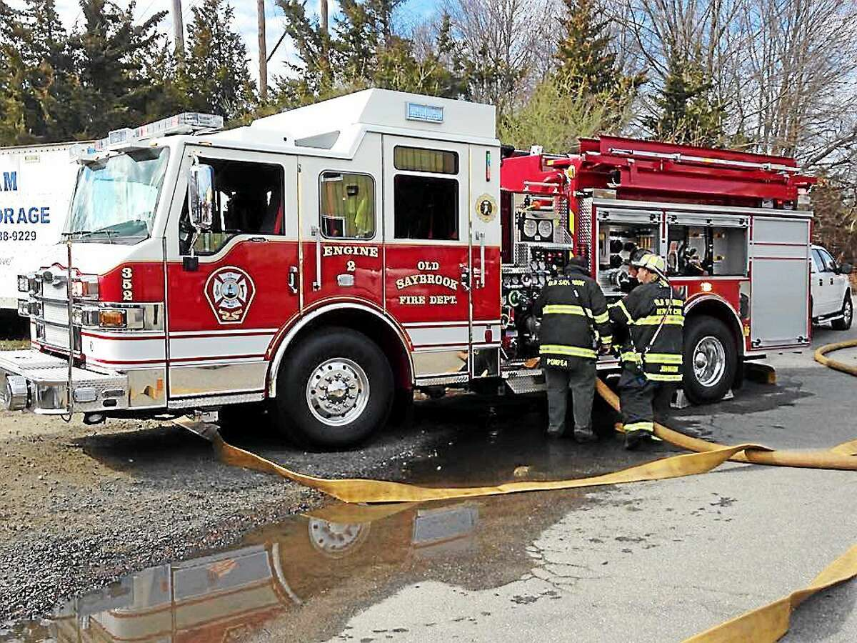 There were no injuries in a fire at a business in Old Saybrook earlier this week.