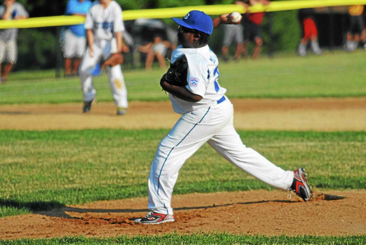 Old Saybrook's Toby Marineau was the winning pitcher in a 11-3 victory against Cromwell.
