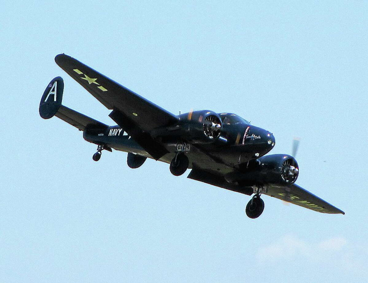 A C-45 like the one that crashed in the New York lake more than six decades ago. This one has U.S. Navy markings.