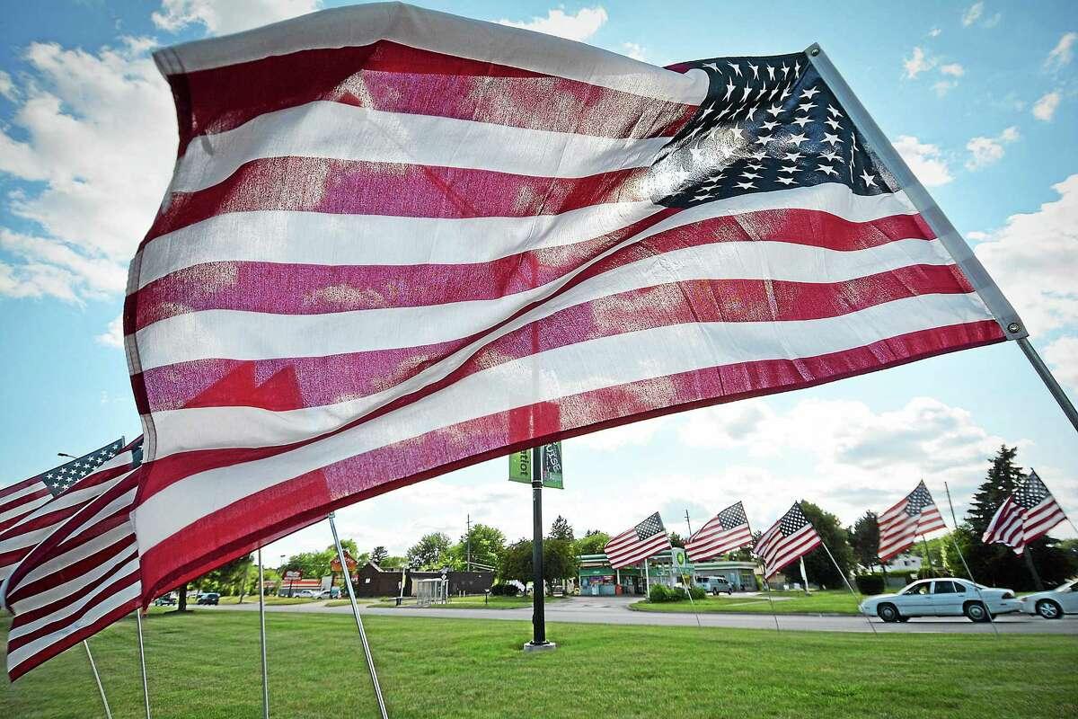File photo American flag