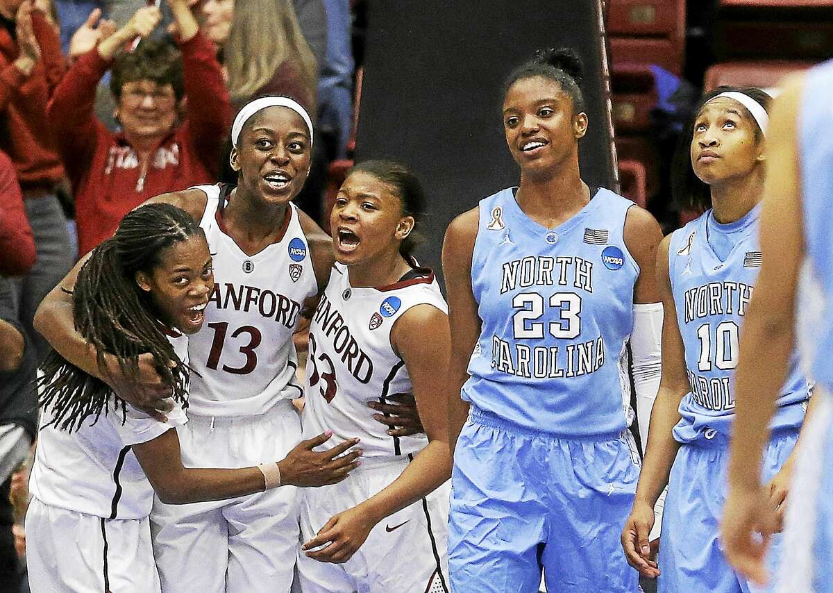 Former North Carolina guard Diamond DeShields (23) is now at Tennessee.