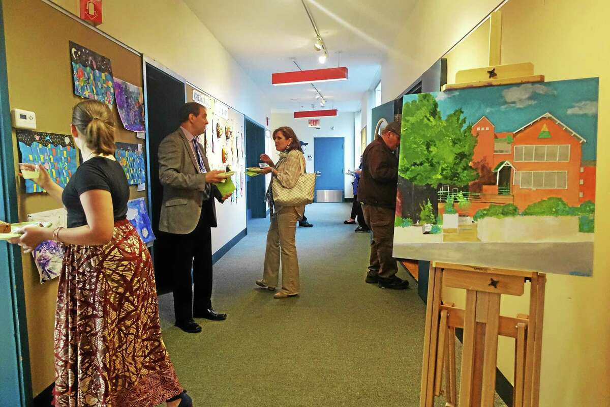 Wesleyan University's Green Street Teaching and Learning Center is in the North End of Middletown.