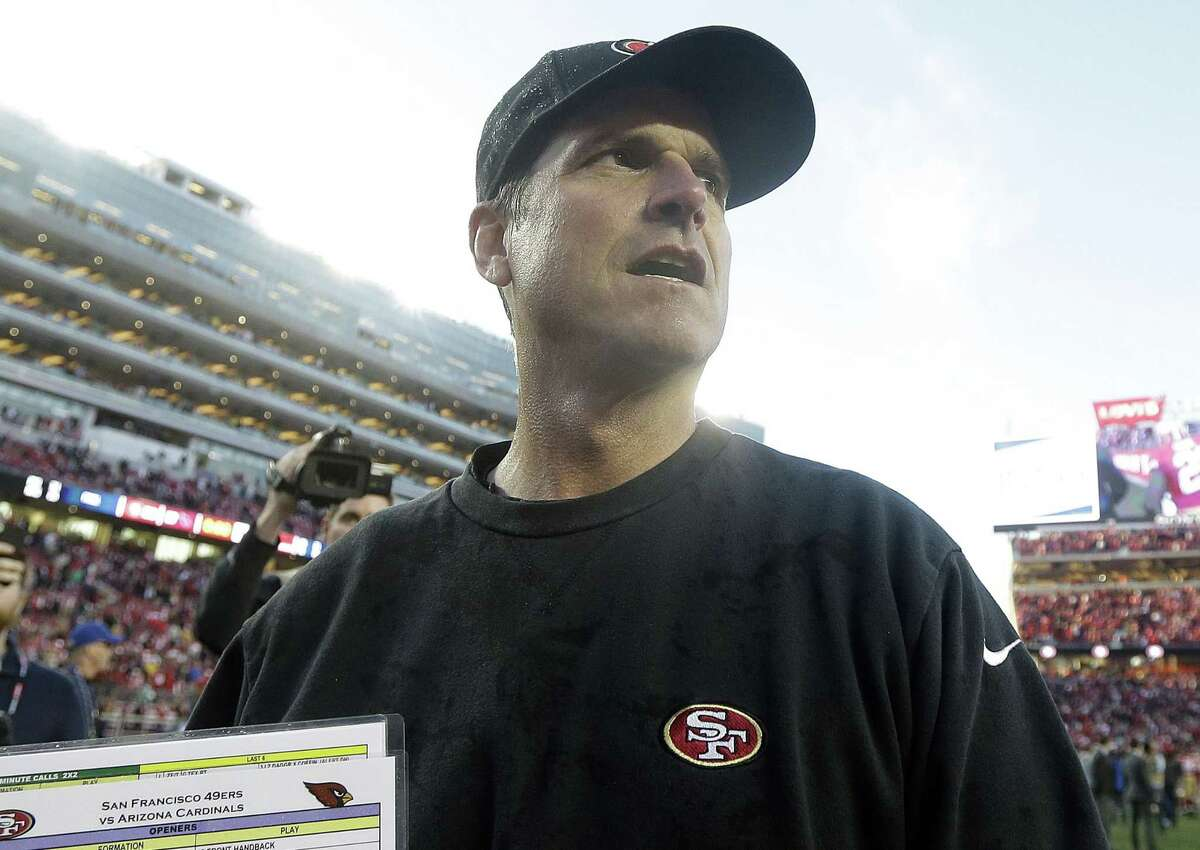 Jim Harbaugh is expected to be introduced as new Michigan coach on Tuesday.