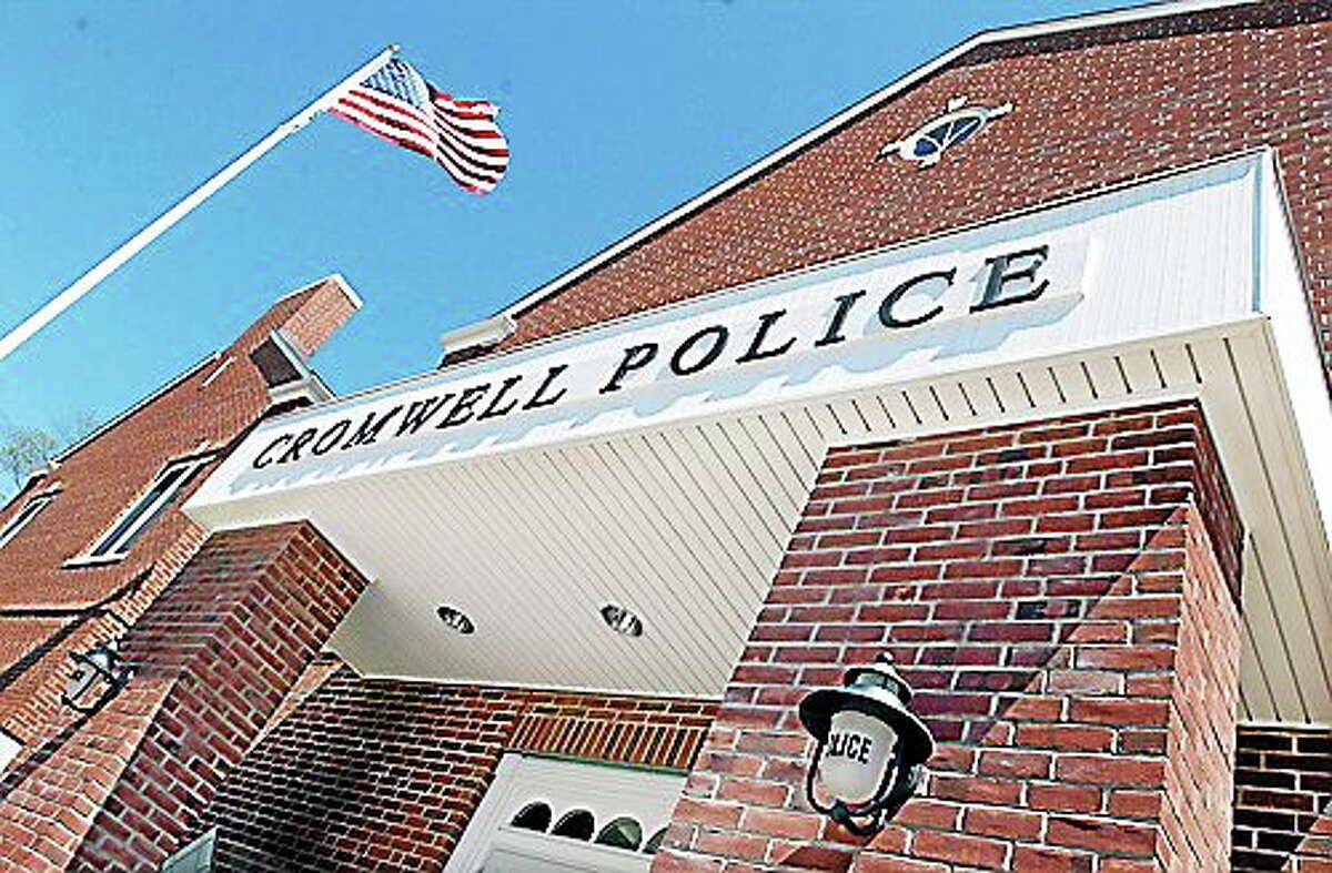 Viktoria Sundqvist - The Middletown Press Cromwell Police headquarters.