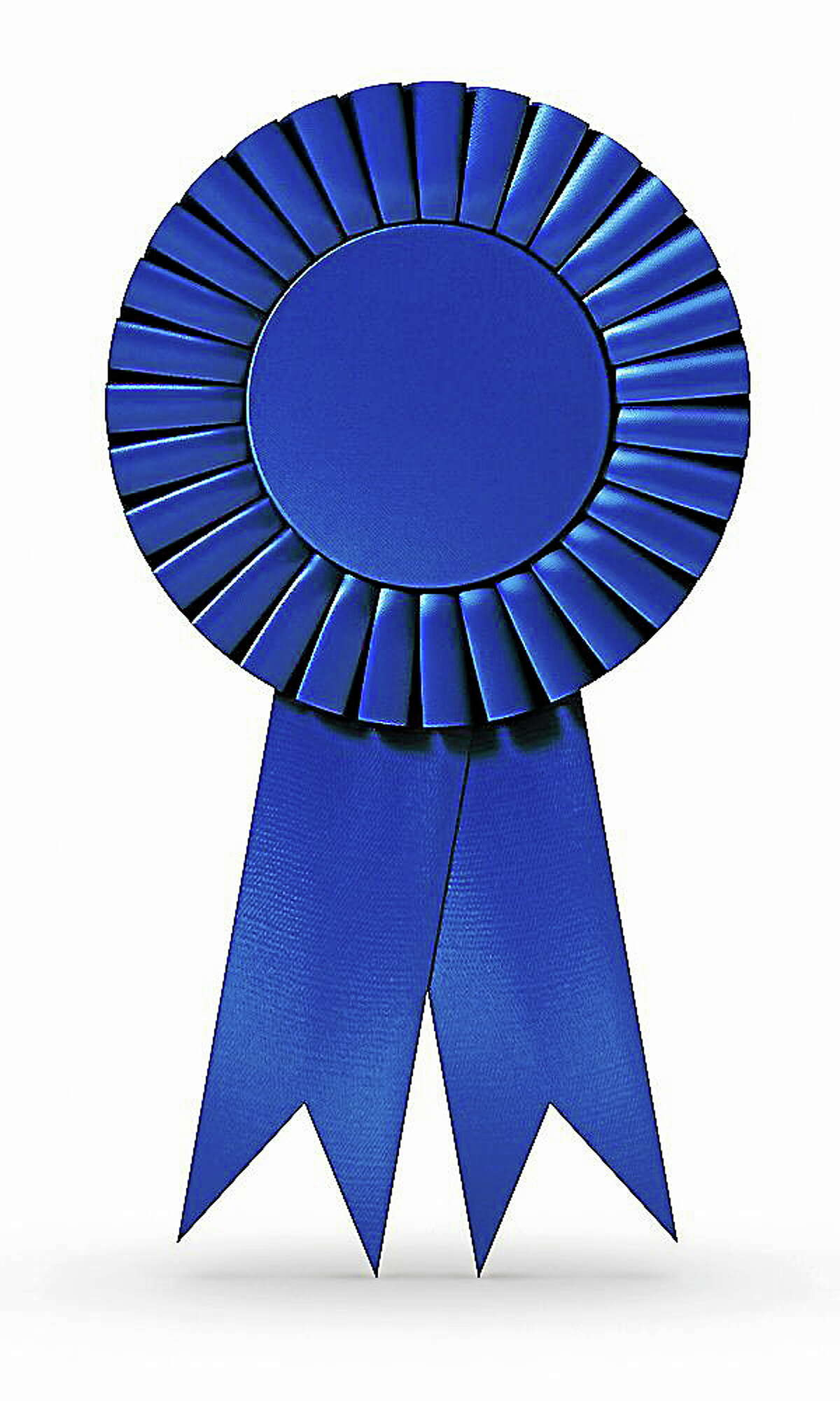 Blue Ribbon (isolated)