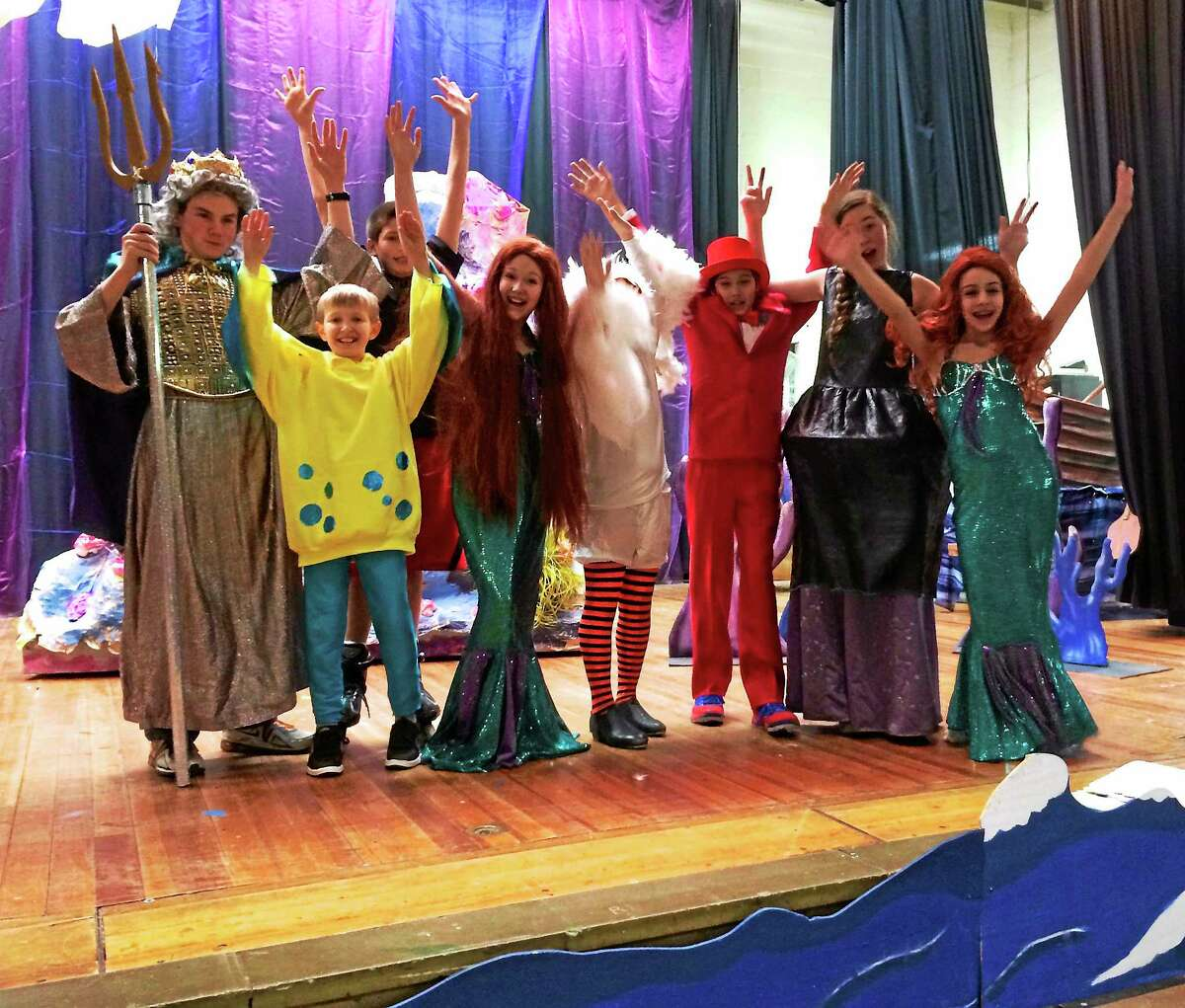 Cromwell Middle School's drama club is ready for their opening night of The Little Mermaid on April 4.
