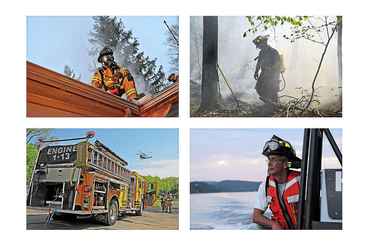 Olivia Drake / Special to the Press Haddam Volunteer Firefighters