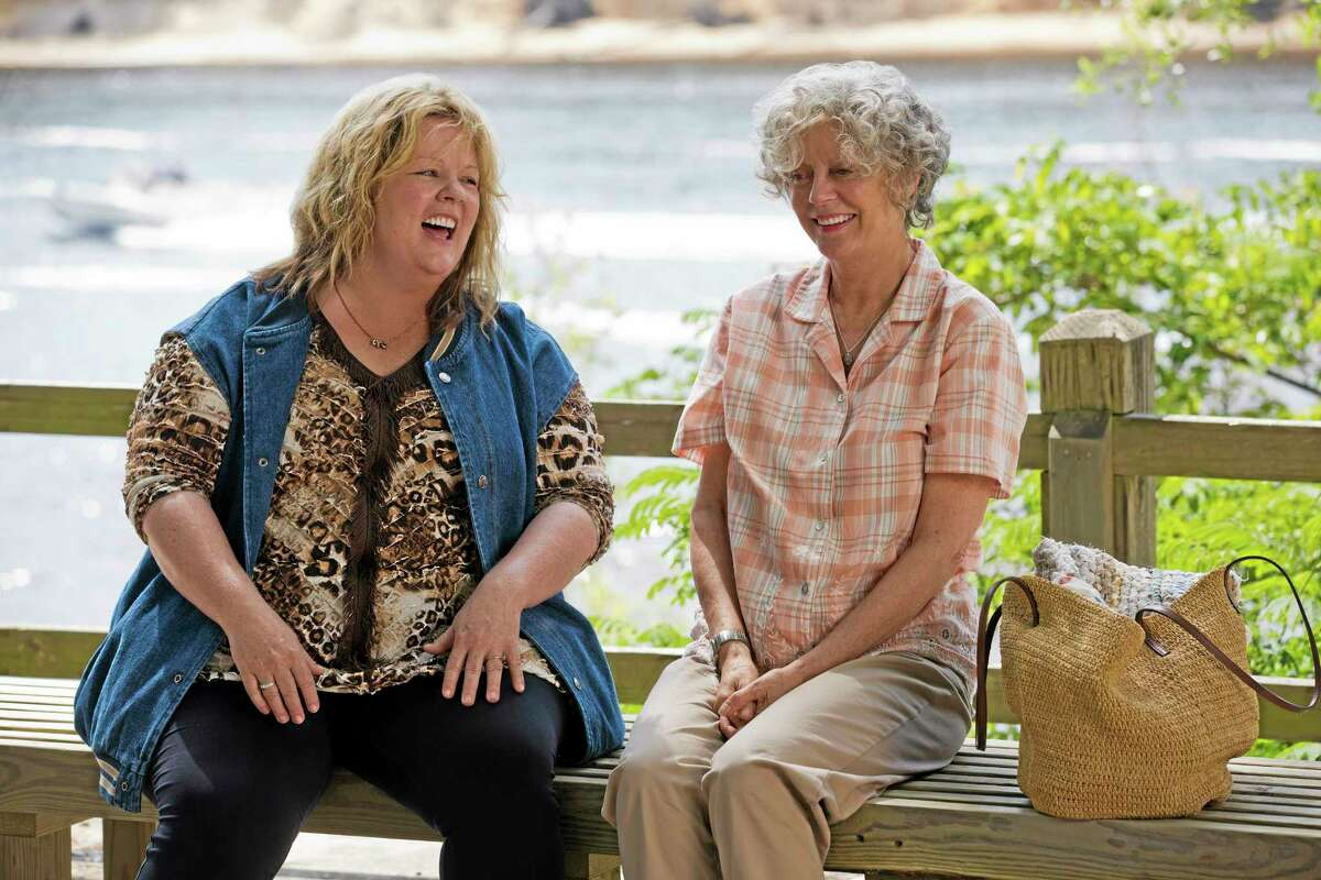 """This image released by Warner Bros. Pictures shows Melissa McCarthy, left, and Susan Sarandon in a scene from """"Tammy."""""""