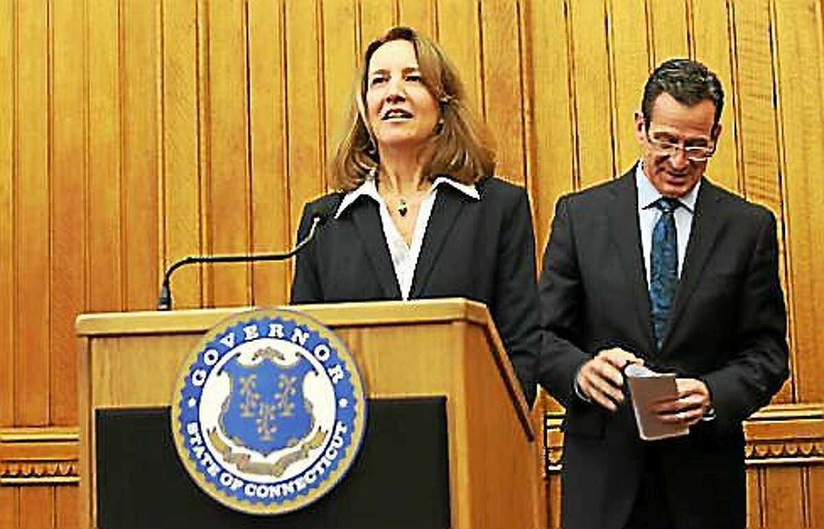 Gov. Dannel P. Malloy chose Karen Buffkin, deputy secretary of the Office of Policy and Management, to be his next chief legal counsel.