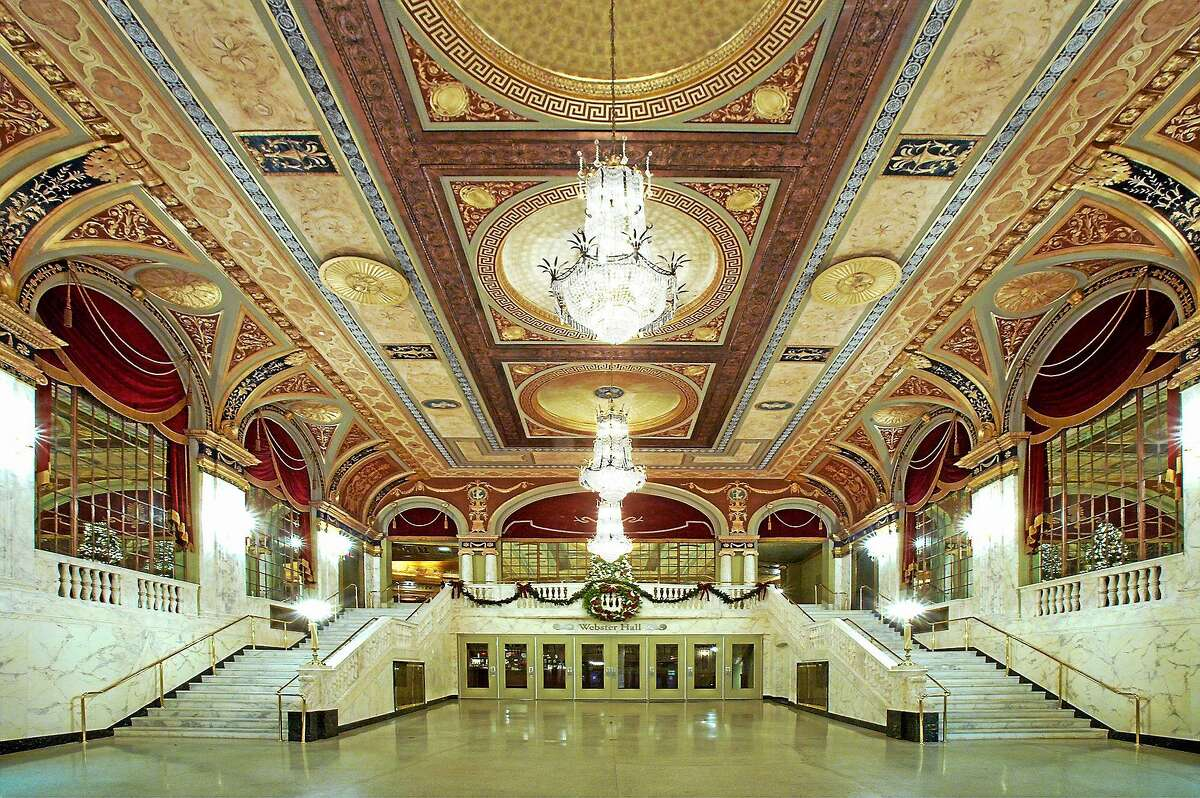 Contributed photo The lobby of the Palace Theater in Waterbury.