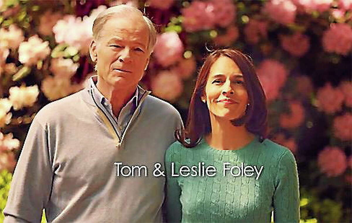 Screengrab of Foley campaign ad