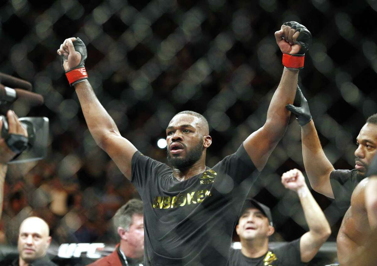 Jon Jones appeared in an Albuquerque court on Tuesday.