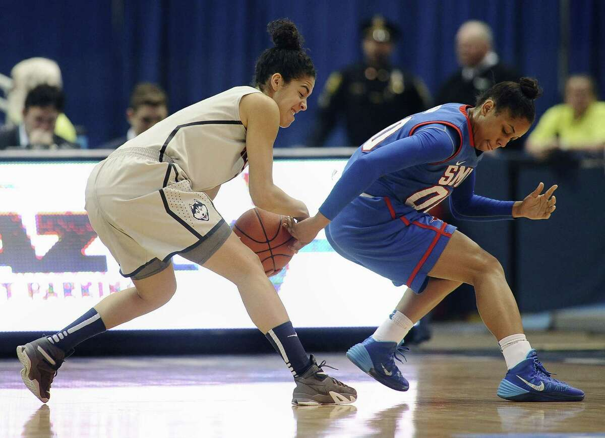 UConn's Kia Nurse is just one of many freshman who will be asked to play big roles in Monday's UConn-Duke game.