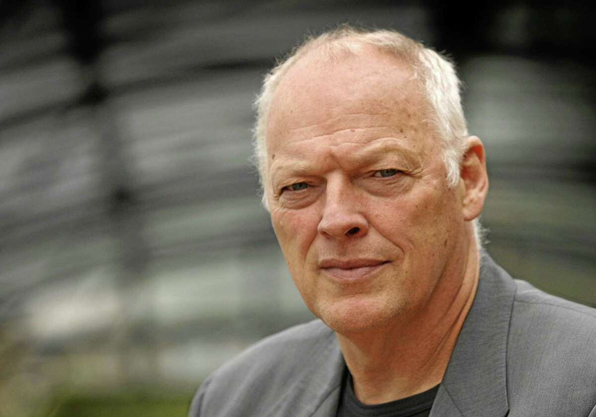 FILE - An Aug. 13, 2008, file photo is of former†Pink Floyd band member David Gilmour in London.