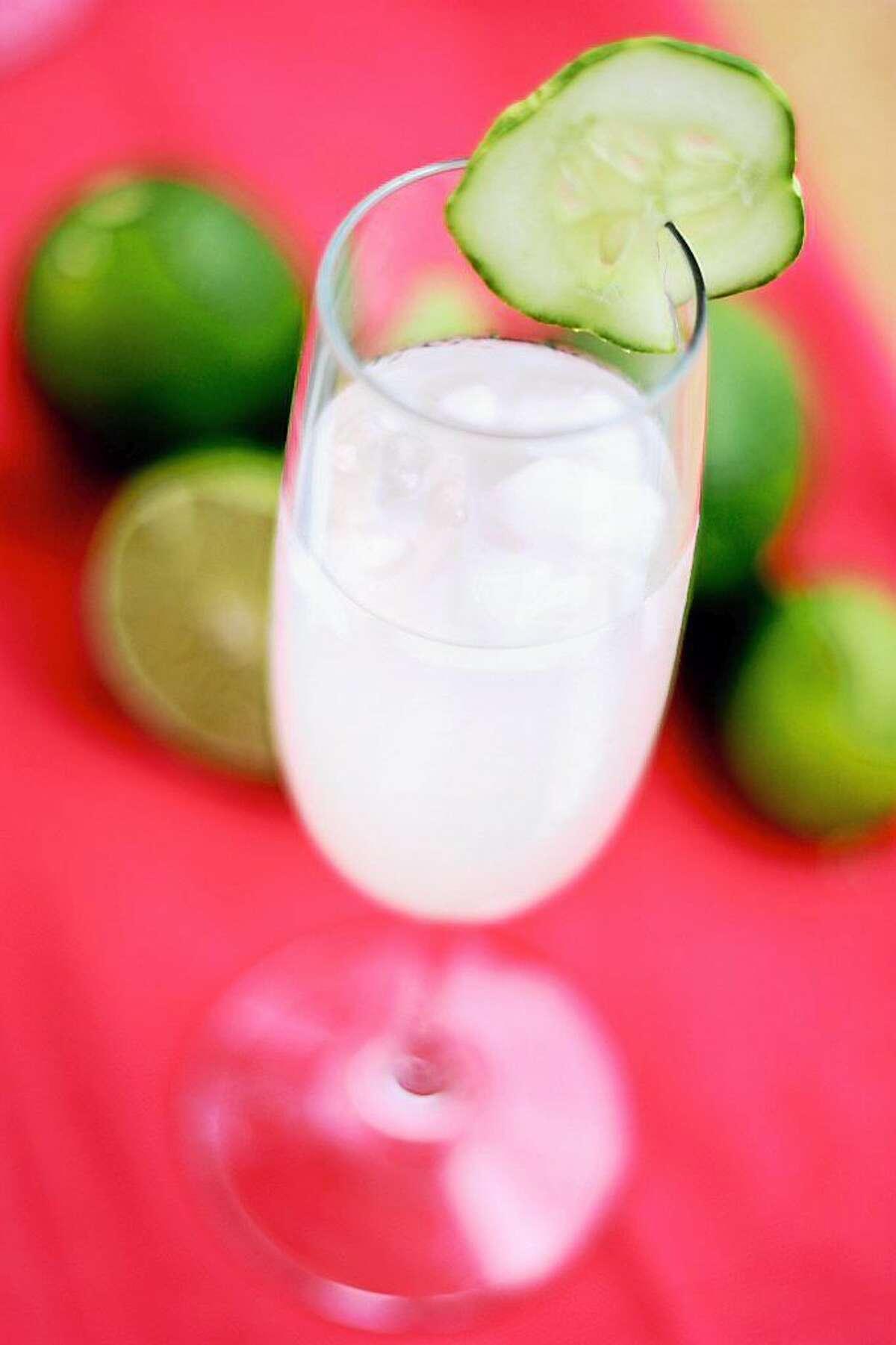 Middletown's vegan eatery I.O.N. Restaurant shares its Lime-Mint Spritzer recipe.