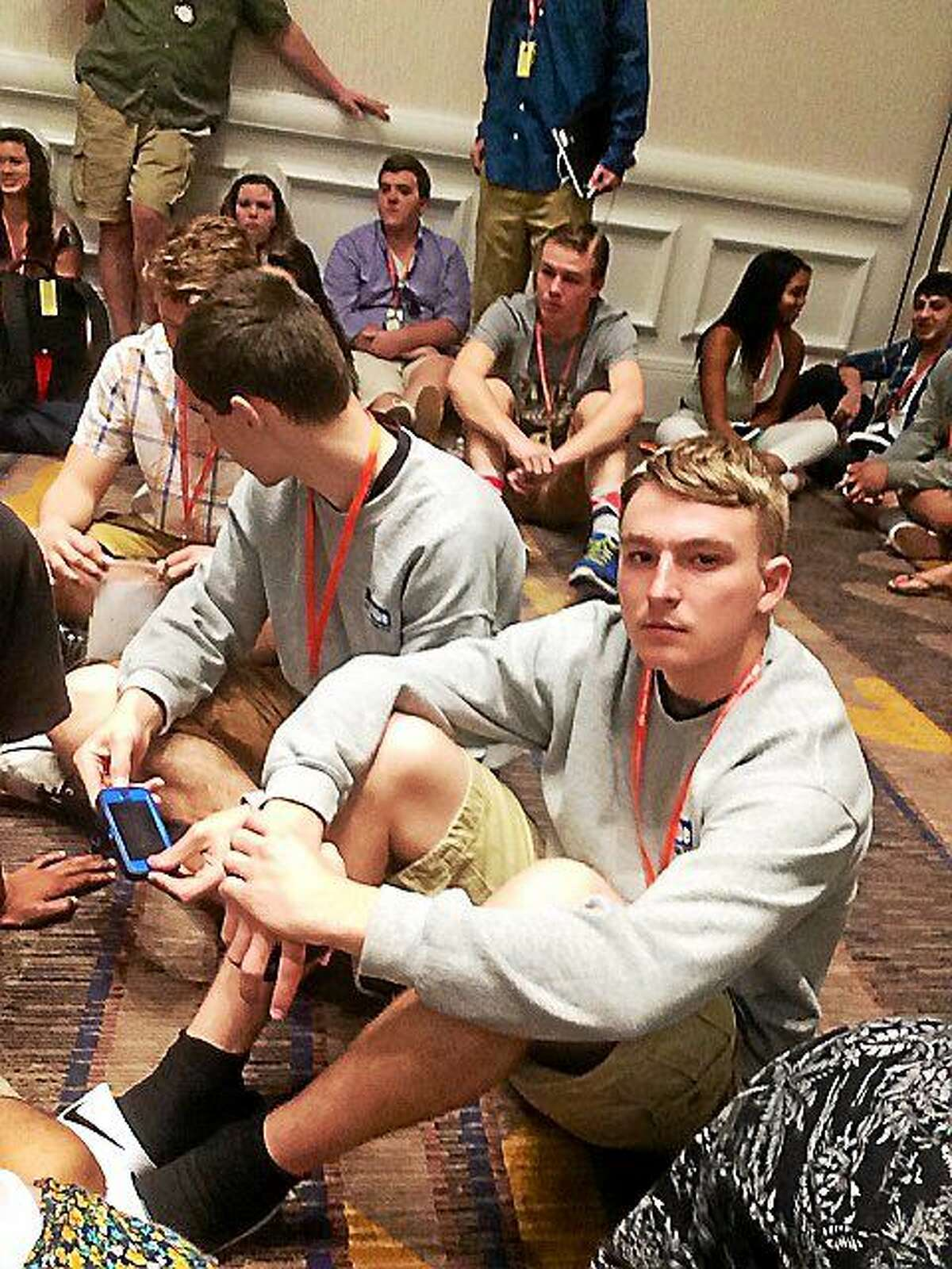 Courtesy photo Middletown High School students traveled to San Diego recently to