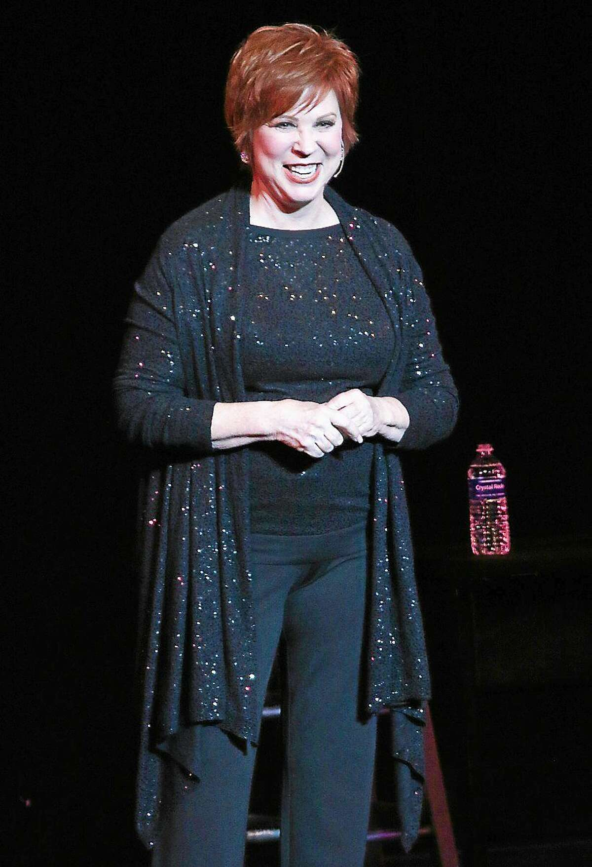 Photo by John Atashian Comedian, actress and singer Vicki Lawrence, best known for the many characters she originated on The Carol Burnett Show, is shown performing on stage at the Palace Theater in Waterbury on April 18. Her ìtwo-womanî show featured Thelma Harper, who was the supporting character for Burnettís Eunice Higgins and became a televised comedy show for a number of years. Lawrence has earned multiple Emmy Award nominations, winning one in 1976. She is also a multiple Golden Globe nominee, all for The Carol Burnett Show.