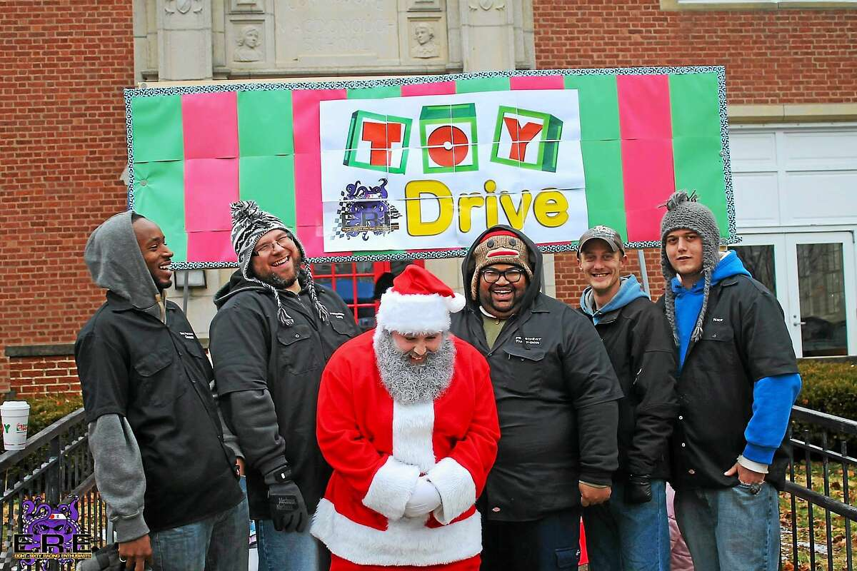 Middletown's newly formed race car club held its first holiday toy drive earlier this month, collecting 500 toys for local children.