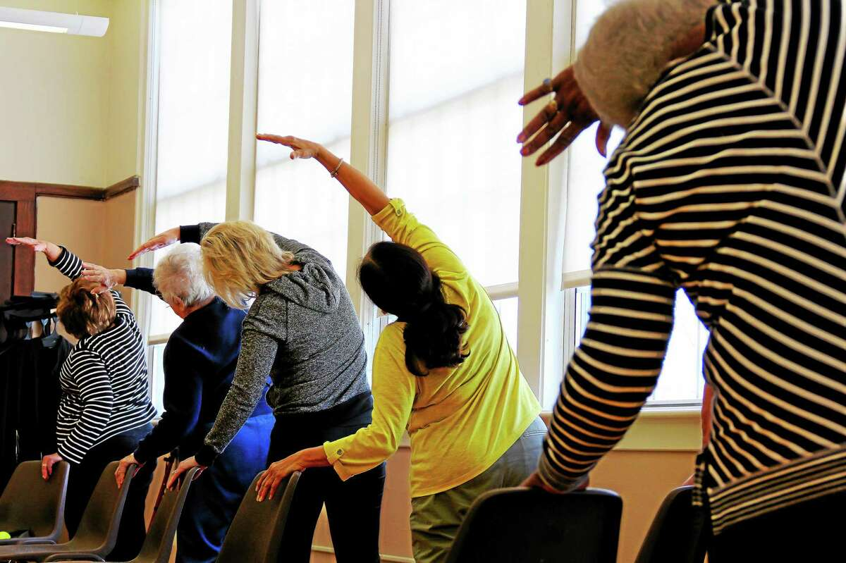 The Middletown Senior and Community Center offers a weekly exercise program for those diagnosed with Parkinson's Disease that uses tennis balls, hand weights and even lollipops to counter symptoms of muscle weakness and loss of fine motor skills.