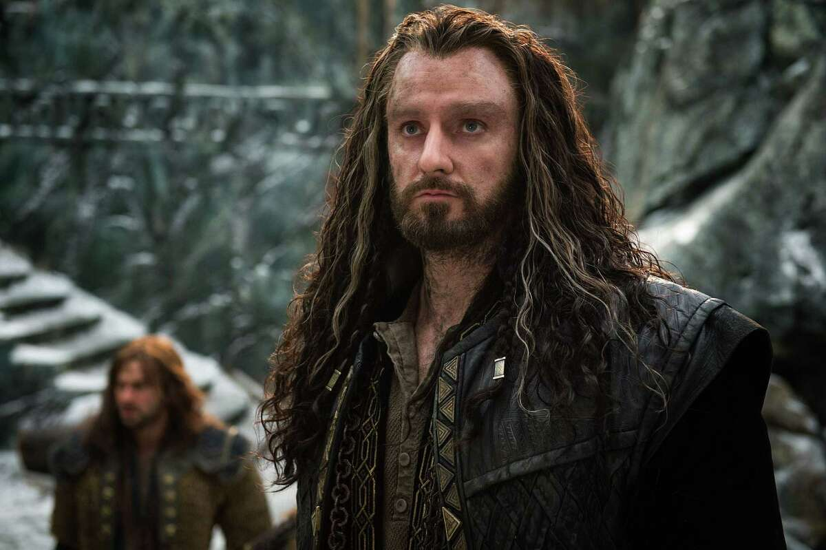 """In this image released by Warner Bros. Pictures, Richard Armitage appears in a scene from """"The Hobbit: The Battle of the Five Armies."""""""