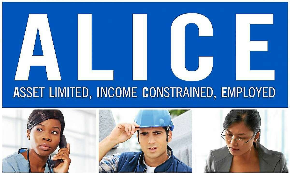 ALICE stands for Asset Limited, Income Constrained, Employed.