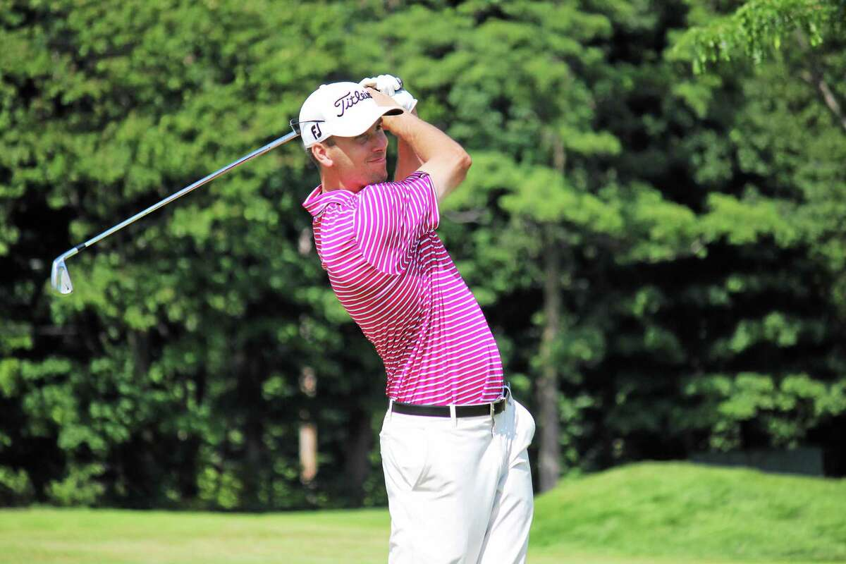 Adam Rainaud was the only Connecticut Section professional to play in last month's Travelers Championship.