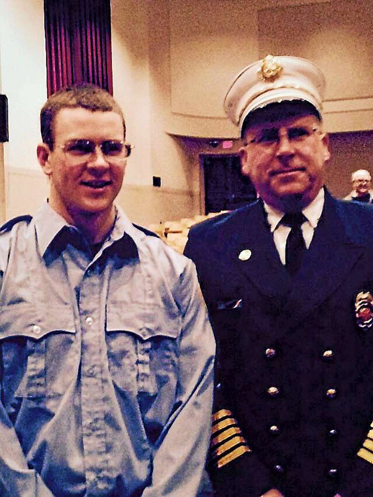 Killingworth Volunteer Fire Co. firefighter Kevin Gorman graduated from the Connecticut Fire Academy earlier this month.