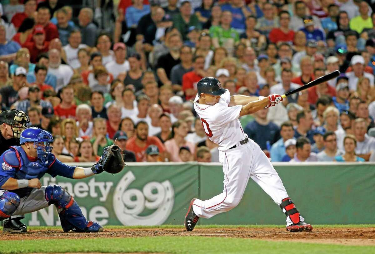 Mookie Betts and the Boston Red Sox's game against Baltimore was rained out on Friday.