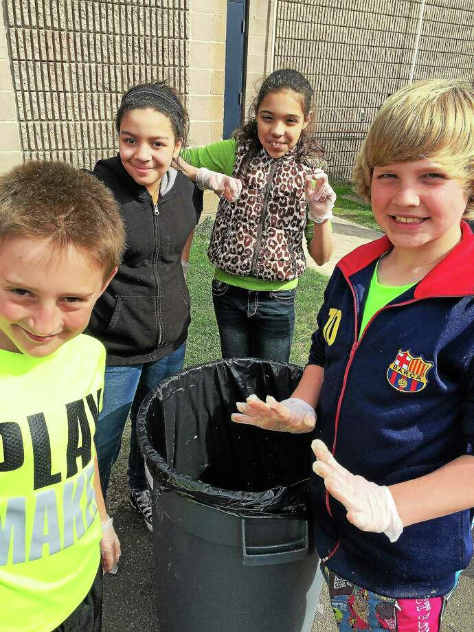 Other hands-on scientific activities for the Middletown fifth-graders will offer insight into renewable resources and what sustainable management means. Photo: Journal Register Co.