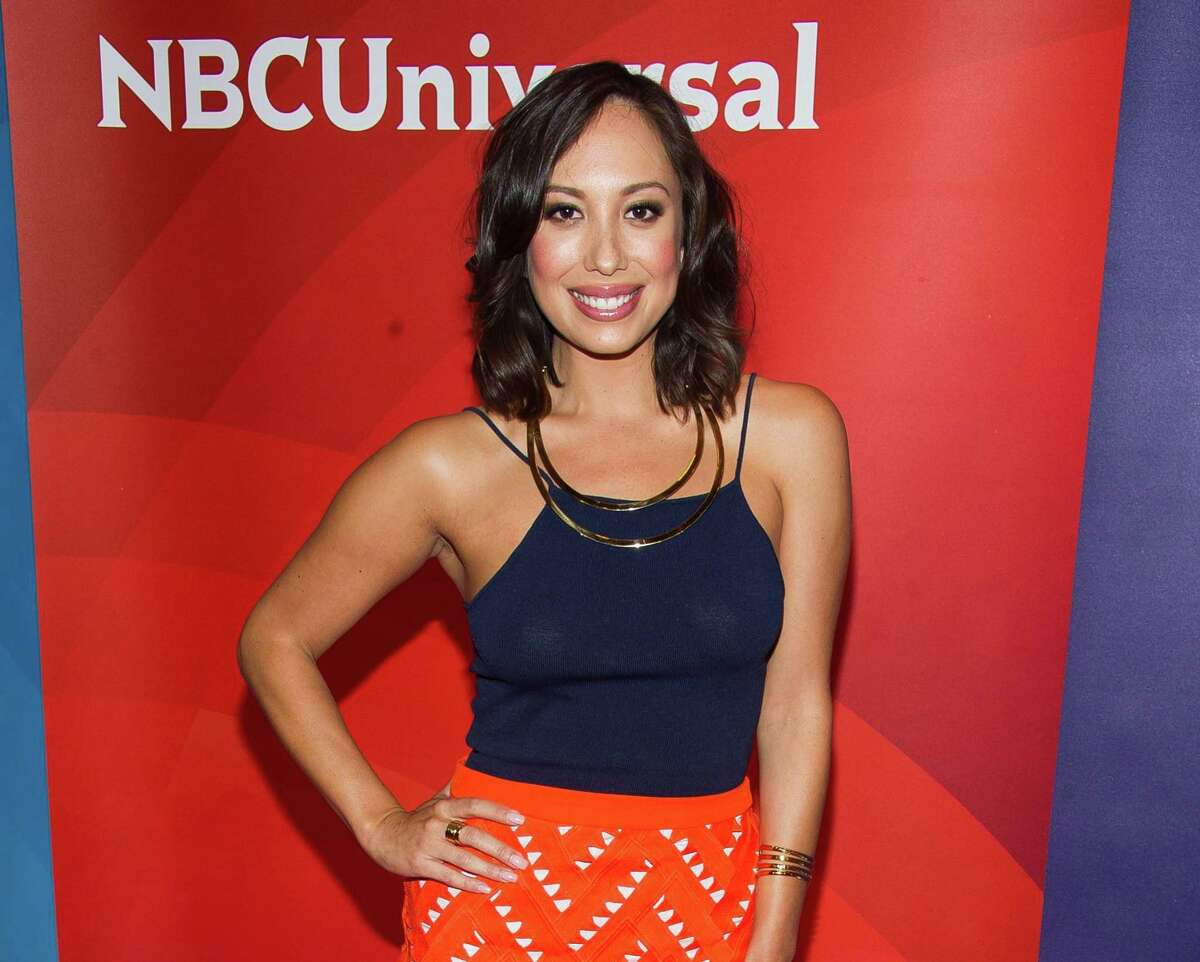 FILE - In this June 24, 2015 file photo, Cheryl Burke arrives at the NBCUniversal New York Summer Press Day event at The Four Seasons Hotel in New York. Miss USA has lost its third co-host. ìDancing with the Starsíî Cheryl Burke said Tuesday, June 30, she is dropping out of next monthís pageant ìin light of the recent statements made by Donald Trump,î a co-owner of the pageant. Burke was scheduled to join MSNBC anchor Thomas Roberts co-hosting NBCís telecast of the July 12 event. (Photo by Charles Sykes/Invision/AP, File)