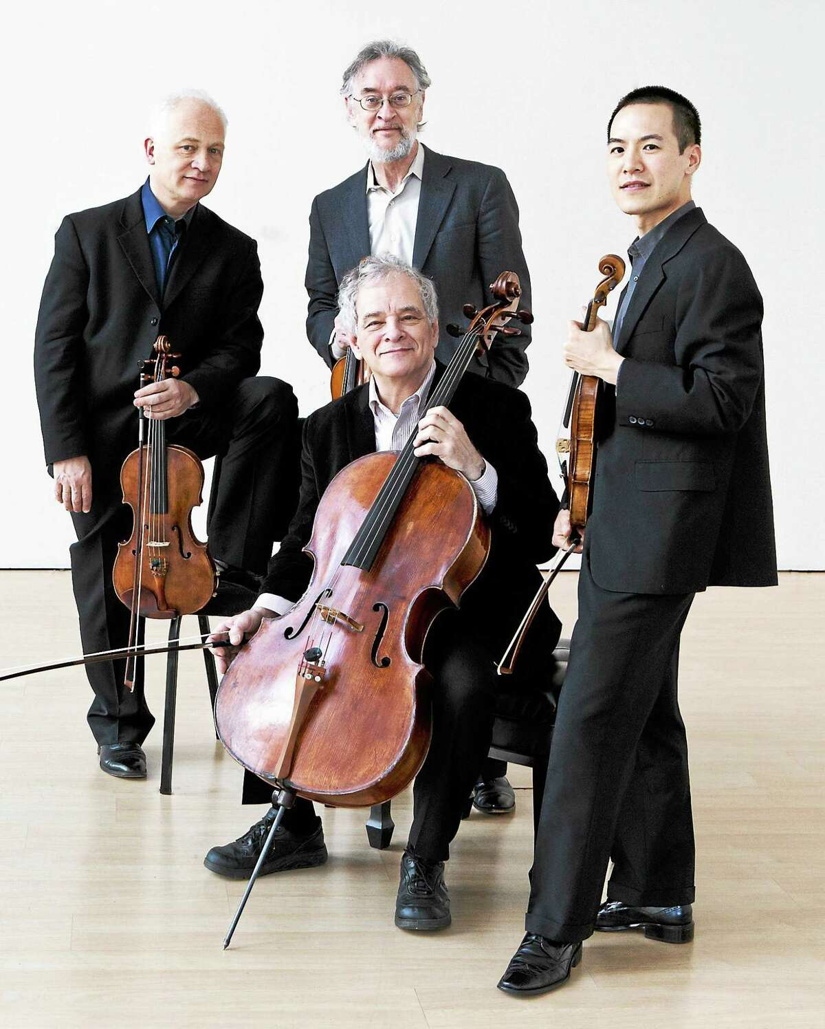 Contributed photoThe Juilliard String Quartet performs the first concert of the Essex Winter Series.