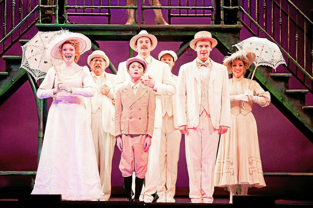 Contributed photosThe citizens of New Rochelle N.Y. in a scene from Ragtime, which will be performed at the Palace Theater in Waterbury in January.