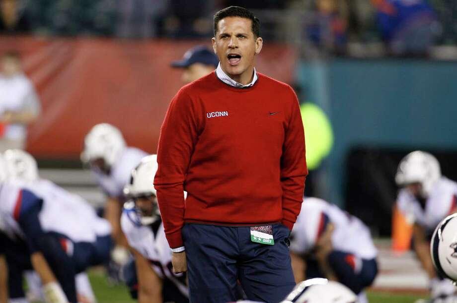 UConn head coach Bob Diaco. Photo: The Associated Press File Photo  / FR170982 AP