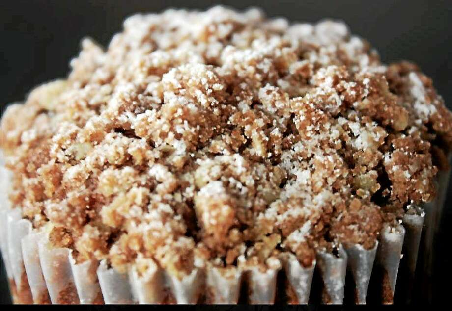 Vegan Apple Cinnamon Muffins can even be made ahead and frozen — for a perfect on-the-go breakfast. Photo: Courtesy I.O.N. Restaurant