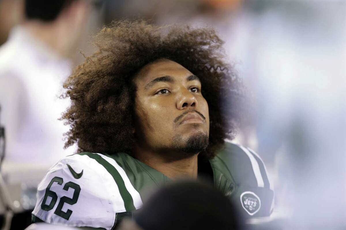 New York Jets rookie defensive lineman Leonard Williams has a muscle strain behind one of his knees.