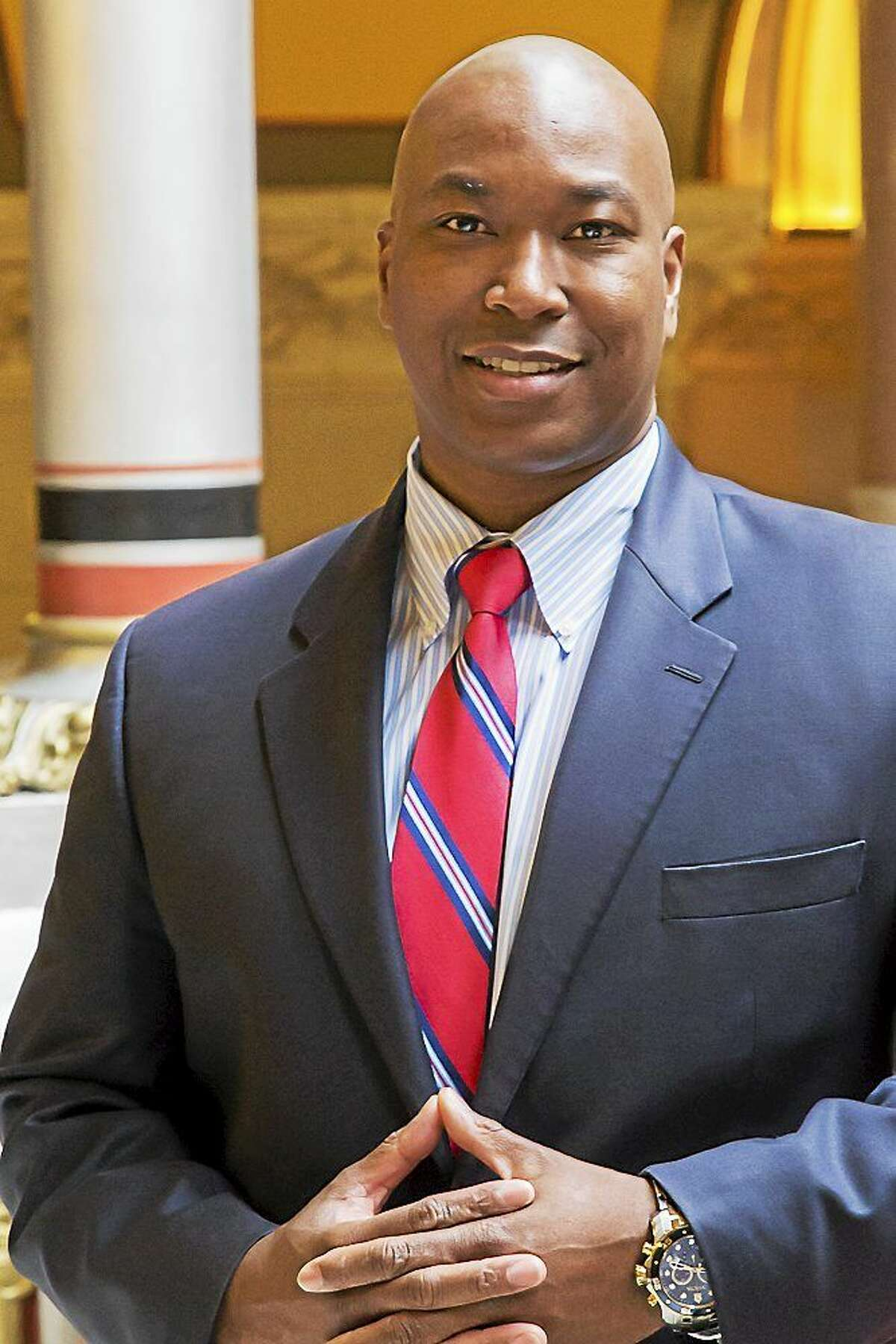 Avery Gaddis, of Waterbury, was appointed by the Connecticut Senate Republicans as the new Director of Urban Affairs.