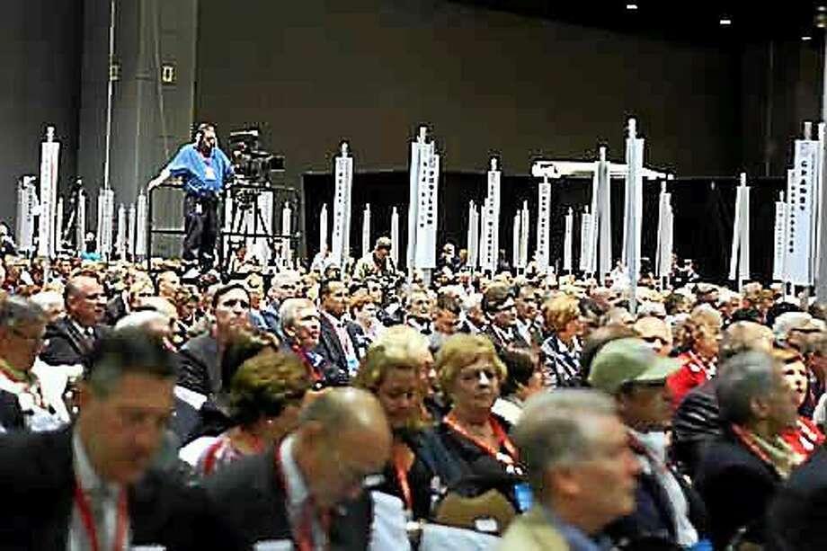 Republican Party Convention. (CTNewsJunkie file photo) Photo: Journal Register Co.