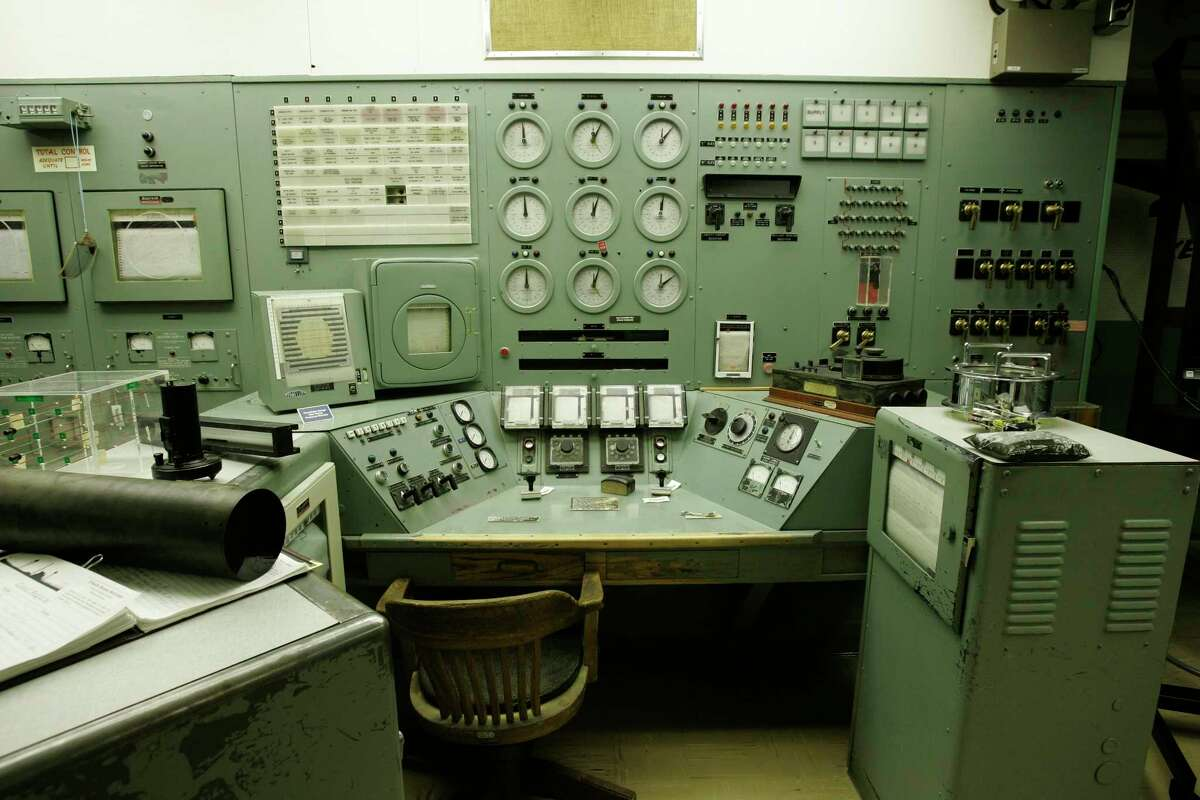 n this photo taken April 3, 2008, the control panel for Hanford nuclear reservation's famous B Reactor is shown in Richland, Wash.