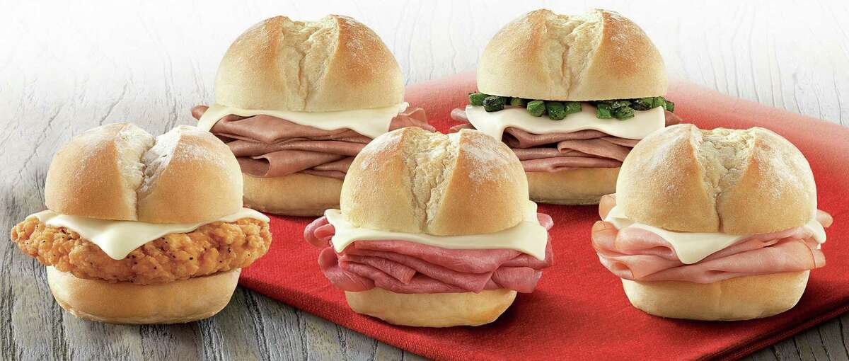 Arby's new lineup of sliders.