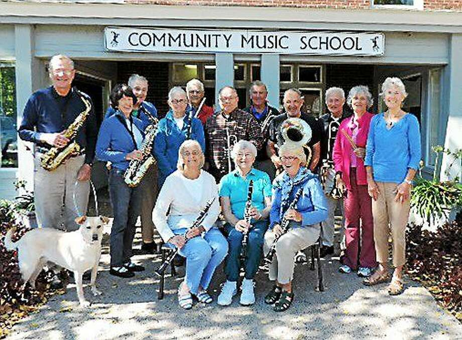 """Contributed photo The HYPERLINK """"http://www.community-music-school.org""""Community Music School New Horizons Band will present a joint concert with Groton New Horizons at the Estuary Council of Seniors, 220 Main Street in Old Saybrook at 1 p.m. on Thursday, April 23. Both bands will perform separately, and then collaborate on several pieces in a variety of styles. New Horizons Band will also play on Sunday, April 26 at 3 p.m. at the Acton Library, 60 Old Boston Post Road in Old Saybrook. Photo: Journal Register Co."""