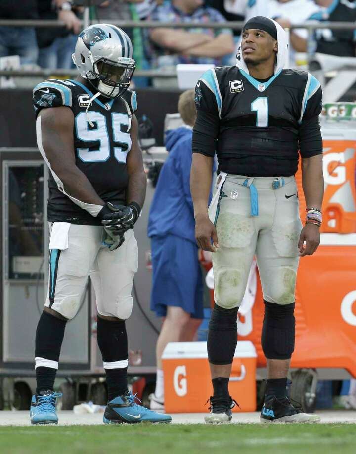 The Register's Dan Nowak believes Cam Newton and the Panthers could be in trouble today when the face the Giants. Photo: The Associated Press File Photo  / FR170480 AP