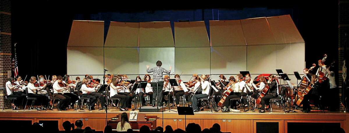 Contributed photo Community Music Schools's Sinfonia and string ensemble will give a concert April 28 at Deep River High School.
