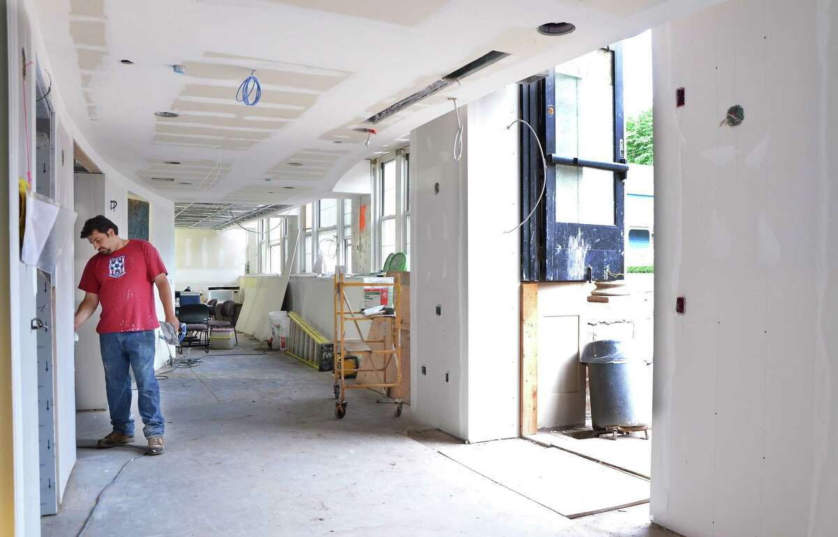 Renovations continue at the new Middletown Senior Center at 61 Durant Terrace in Middletown.