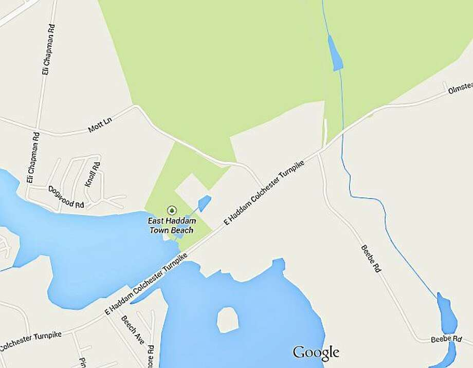 East Haddam-Colchester Turnpike and Beebe Road in East Haddam Photo: Courtesy Google
