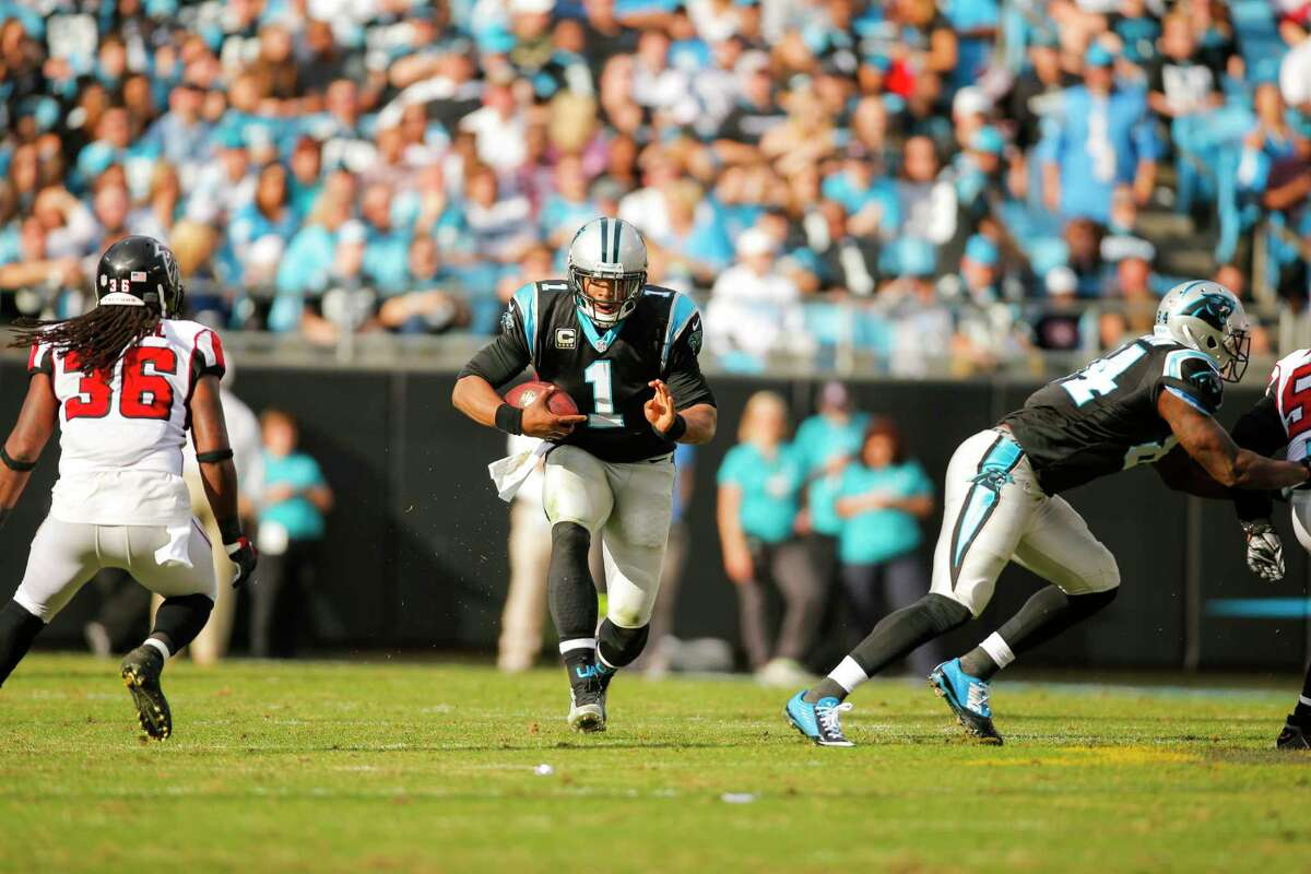 The Giants will look to contain the Carolina Panthers and quarterback Cam Newton on Sunday.